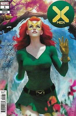 X-Men Comic Issue 1 Cover D Artgerm Variant First Print 2019 Hickman Francis Yu