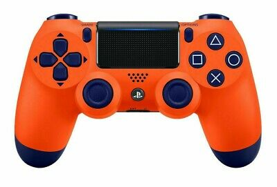 PS4 Sony DualShock 4 Wireless Controller For PlayStation 4 New - Sunset Orange