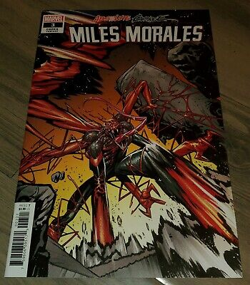 ABSOLUTE CARNAGE MILES MORALES 3 1:25 CODEX VARIANT 1 Cgc Ready Marvel Rare Key