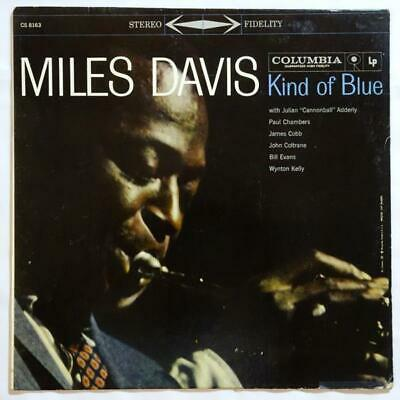 MILES DAVIS Kind of Blue JOHN COLTRANE COLUMBIA JAZZ LP