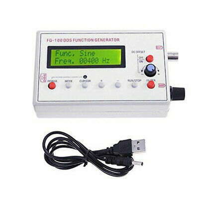 DDS Function Signal Generator Sine+Triangle+Square Wave Frequency 1HZ-500KHz 13