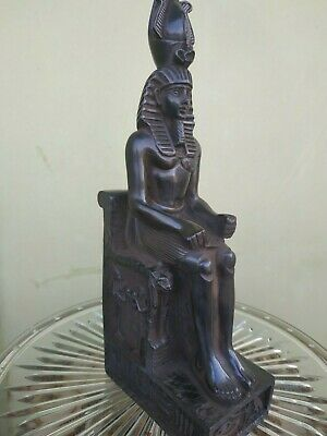 Antique Statue Rare Ancient Egyptian Pharaonic King Ramses