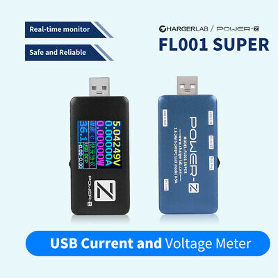 ChargerLAB POWER-Z USB PD Tester Charger Voltage Current Meter FL001 SUPER R5H0