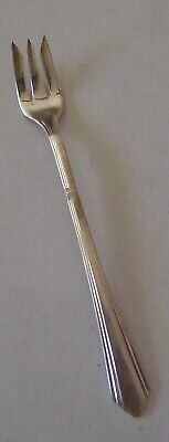 1 Seafood Cocktail Fork Wilshire International Silver 1933 Silverplate IS