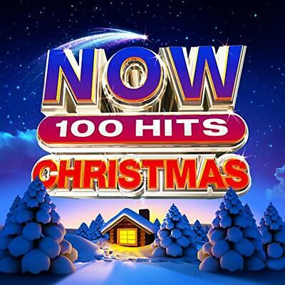 NOW 100 HITS CHRISTMAS (Various Artists) 5 CD Set (2019) (Brand New & Sealed)
