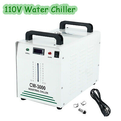 110V Industrial Water Chiller CW-3000 for CNC/ Laser Engraver Engraving Machines