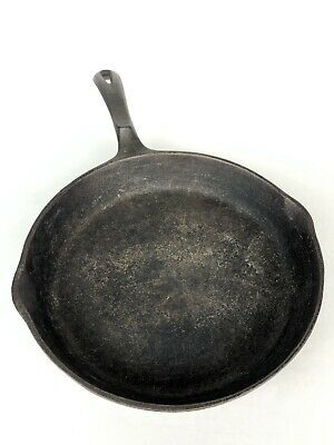 "Wagner Ware 1891 Original 10 1/2"" Cast Iron Skillet Made In The USA Vintage"