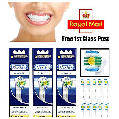 Braun Oral B 3D WHITE Electric Tooth-brush Heads