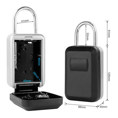 Password Key Box Key Safe with 4-Digit Combination Waterproof Protective Cover