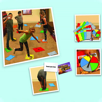 Lava jumping! The Floor is Lava! Easy to Play Interactive Board Game Kids Adults