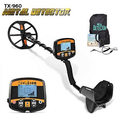 1pc TX-850 LCD Portable Easy Installation Underground Metal Detecting Tool W7Y2