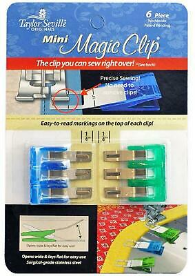 Taylor Seville Mini Magic Clips - Pack of 6 small clips