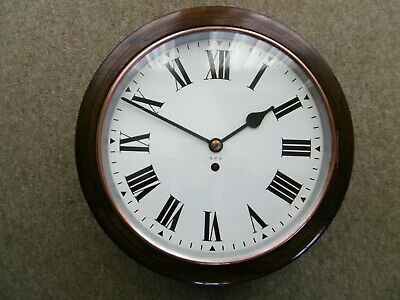 """Genuine Gpo, Post Office, Royal Mail 12"""" Dial, Fusee Clock. Gpo On Dial. Vgc."""