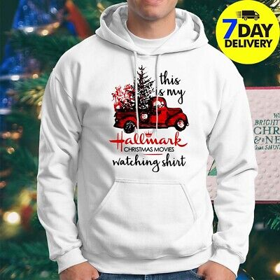 This is My Hallmark Christmas Movies Watching Hoodie Funny Unisex Tee S-3XL