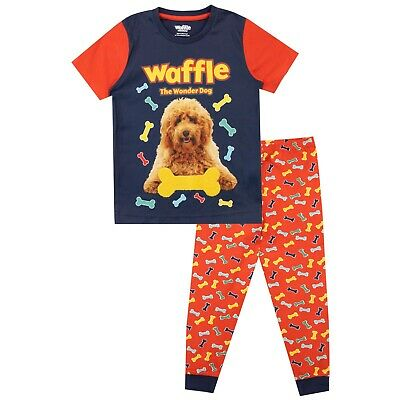 Waffle The Wonder Dog Pyjamas I Kids Waffle the Wonder Dog Pyjama Set