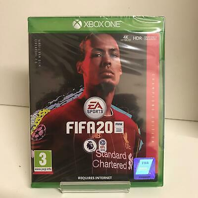 FIFA 20 Champions Edition Xbox One Game - New and Factory Sealed