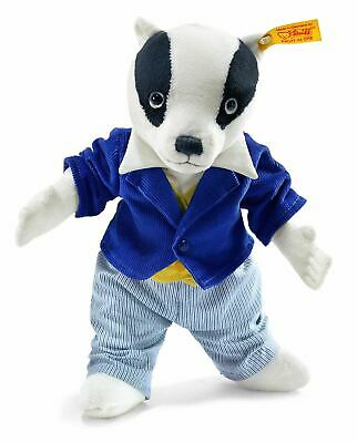 Steiff Bill Badger Childrens Toy Christmas/Birthday Gift, 017049