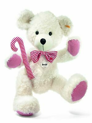 Steiff Huge Almost 3ft Lotte Teddy Bear, Candy Cane+Bow Tie, 111457