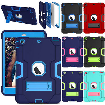 For Apple iPad Mini54321 Tablet Case Kids Silicone ShockProof Hybrid Hard Cover