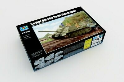 TRUMPETER® 00915 Soviet SU-100 Tank Destroyer in 1:16