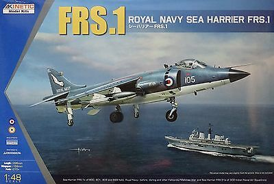 KINETIC 48035 Royal Navy Sea Harrier FRS.1 in 1:48