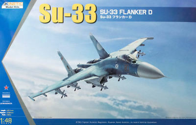 KINETIC 48062 Su-33 Flanker D in 1:48