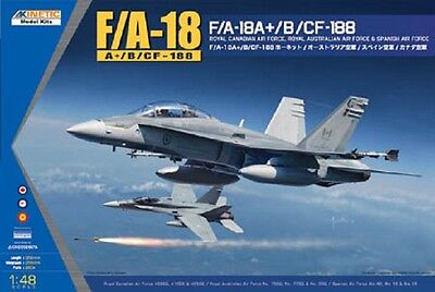"KINETIC 48030 F/A-18A+/B/CF-188 ""Canadian AF, Australian AF, Spanish AF"" in 1:48"