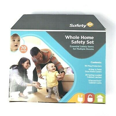 Safety 1st Whole Home Safety Set - NIB - 70 Pieces-Multiple Rooms - NEW
