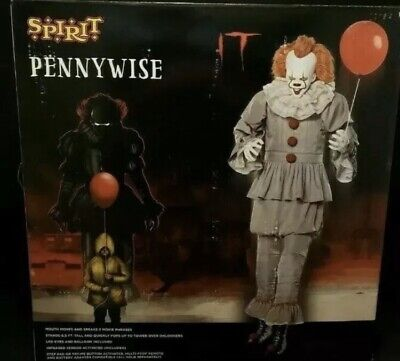It Clown PENNYWISE Spirit Store 6.5' Animated CLOWN Halloween Prop IT CHAPTER 2