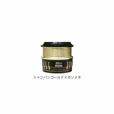TICT CBS SPOOL-S22 Spare Spool Champagne Gold and Gun Metallic From Japan New
