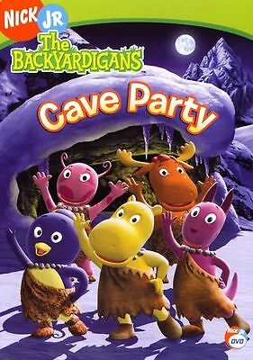 The Backyardigans - Cave Party (DVD)DISC & ARTWORK ONLY NO CASE UNUSED CONDITION