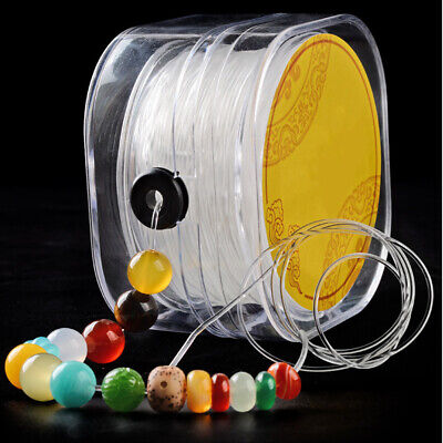 String DIY Line Elastic Cord Wire Jewelry Making Stretch Crystal Beading Round