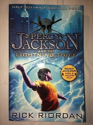 Percy Jackson and the Lightning Thief (Book 1) by Rick Riordan (Paperback, 2013)
