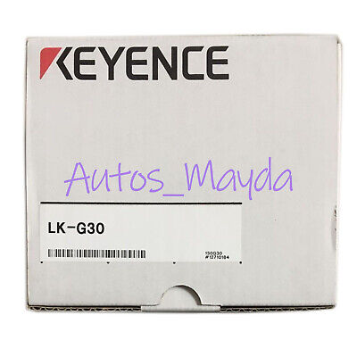 Brand New Keyence LK-G30 Laser Displacement Sensor LKG30 1 year warranty