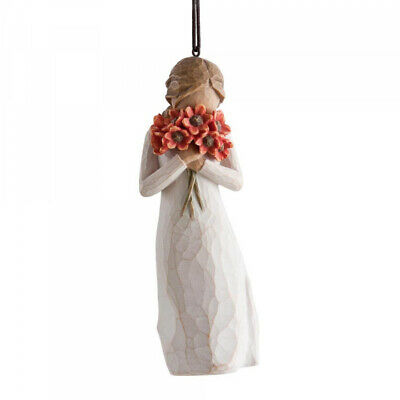 NEW Surrounded by Love Figurative Hanging Ornament - Willow Tree by Susan Lordi