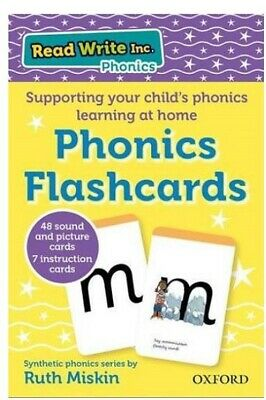Read Write Inc Home: Educational Phonics Flashcards Pre-school Learning For Kids