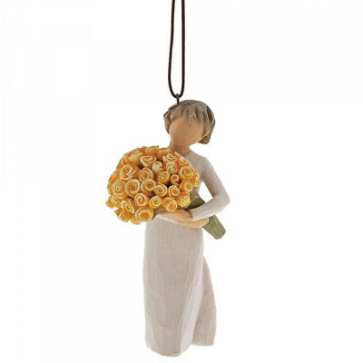 NEW Good Cheer Figurative Hanging Ornament - Willow Tree by Susan Lordi