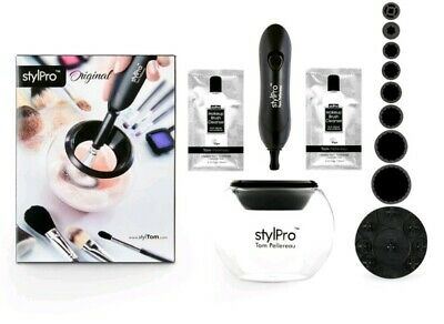 STYLPRO MAKE UP COSMETIC BRUSH CLEANER & DRYER BC01E (£39.95rrp!!)