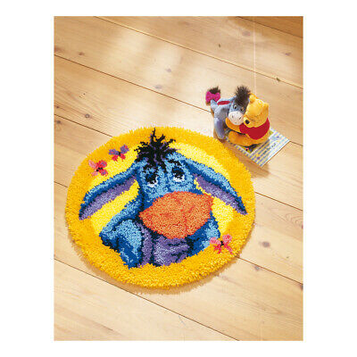 VERVACO|Latch Hook Kit: Shaped Rug: Eeyore|PN-0014706