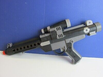 STAR WARS E 11 STORMTROOPER TOY GUN BLASTER electronic sounds COSPLAY 1996 22Y