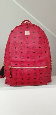 Mcm Rucksack Stark/ Medium/Backpack/rot/Original