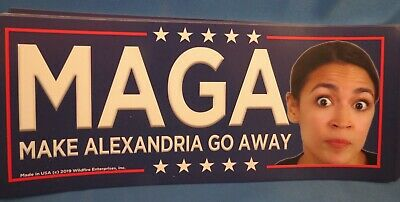 Wholesale Lot Of 20 Trump 2020 Maga Make Alexandria Aoc Go Away Stickers Gop Usa
