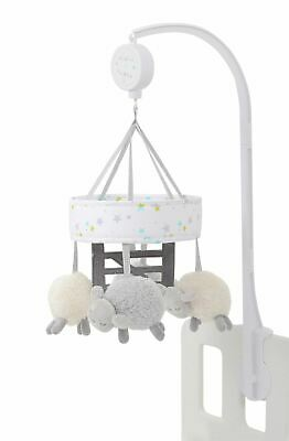 Silver Cloud COUNTING SHEEP COT MOBILE Baby Child Musical Toy BN