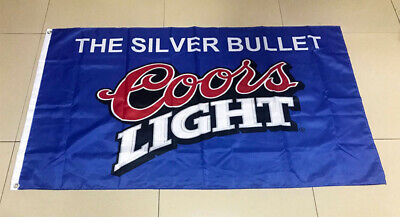 Saturdays are for the boys Coors Light Beer Flag  Deluxe Banner 3/'x5/'Feet