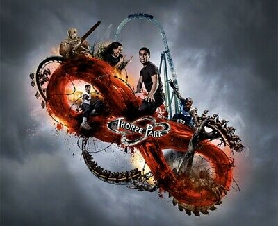 Fright Nights Thorpe Park 1 Day Ticket Thursday 24/10/2019 - Fright Nights Date