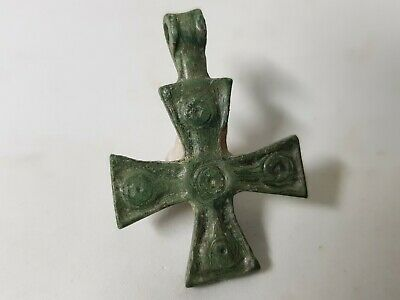 CRUSADERS  BRONZE CROSS 12th-13en century AD