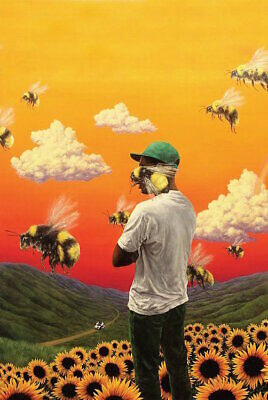 TYLER THE CREATOR FLOWER BOY POSTER, size 24x36