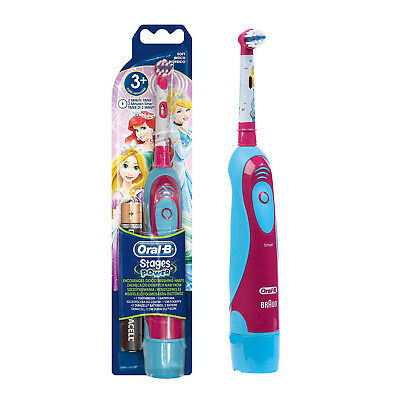Oral B Advance Battery Operated Disney Princess Design Kids Toothbrush