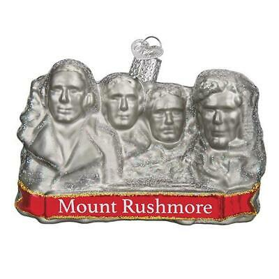 """""""Mount Rushmore"""" (36183)X Old World Christmas Ornament w/ OWC Bx"""