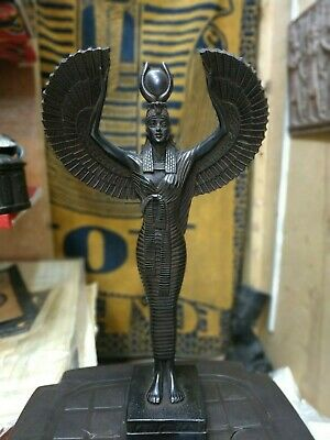 Rare Antique Ancient Egyptian Statue Beautiful Isis Goddess of the Moon